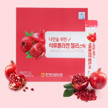 Бад для омоложения Pomegranate Collagen Jelly Stick For Me