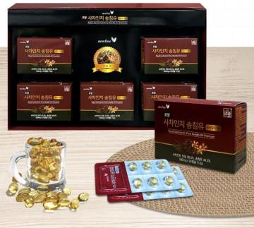 Корейский бад для очистки сосудов и иммунитета Royal Sechalnchi Pine Needle Oil Premium