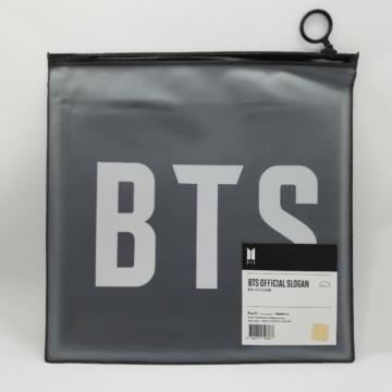 Баннер с официальным слоганом BTS