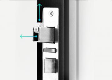 Дистанционный дверной замок с ручкой G-Grab Touch