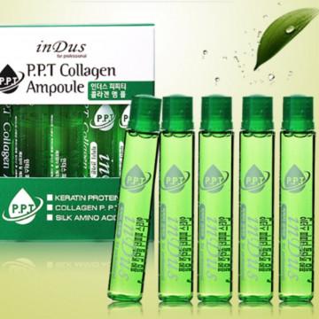 Филлер в ампулах для ухода за волосами с коллагеном PPT Collagen Ampoule  от inDus