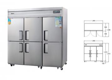 Холодильная камера WSFM-1900DR от компании Гранд Вусунг (Grand Woosong)