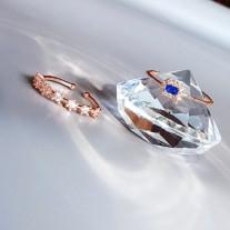 Кольца с камнями, оптовые поставки бижутерии из Кореи