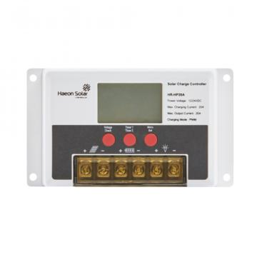 Контроллер для аккумулятора к солнечным батареям HR-HP 20 A от компании Haeon Solar