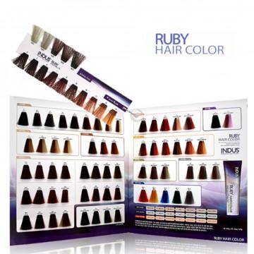 Краска для окрашивания волос Ruby Hair Cream Color от inDus