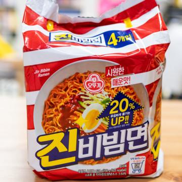Лапша быстрого приготовления Чин Пибим Мен в кисло-сладком соусе от Оттоги