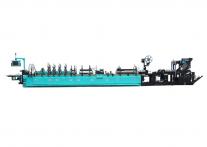 Линия для производства гассетных пакетов (с фальцем) небольшого размера DSM350-CSG от Дусан.