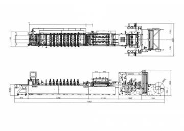 Линия для производства реторт пакетов Дой-пак DSM600-STH