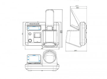 Стационарный тонометр Accuniq BP500
