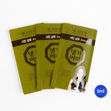Одноразовый шампунь Daen Gi Meo RI от Doori cosmetics, в паучах по 8 мл, 1000 штук