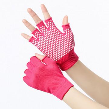 Перчатки без пальцев для фитнеса и йоги от Misochu