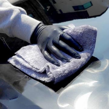 Плюшевая салфетка для полировки авто от Pure Star