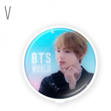 Подставка для телефона с зеркалом BTS World