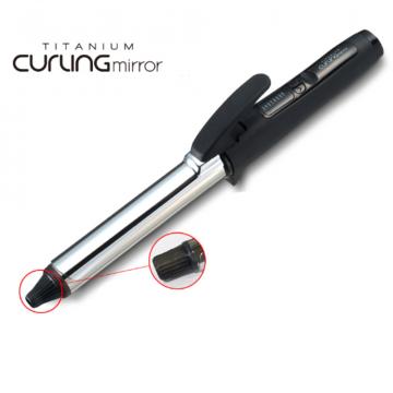 Профессиональная плойка для завивки волос с зеркальным титановым покрытием от Create (24/28/32 мм)