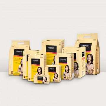 Растворимый кофе 3 в 1 в пакетиках French Cafe от Намьянг