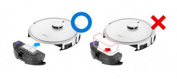 Робот-пылесос G5 от iClebo для сухой и влажной уборки.