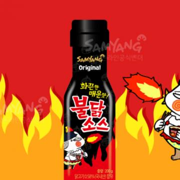Соус Бульдак для лапши и других блюд от Самьянг, 3 шт.
