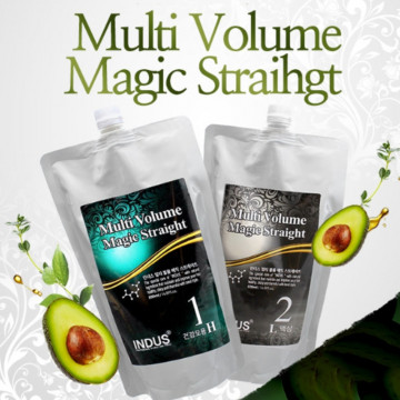 Средство для химического выпрямления волос Multi Volume Magic Straight от inDus (для здоровых волос)