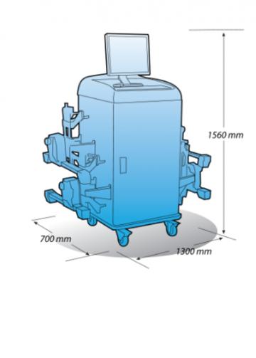 Стенд сход-развал HA-700 от компании Heshbon