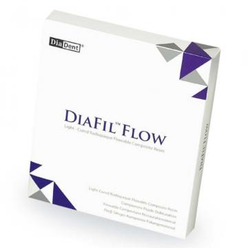 Композитная смола для восстановления зубов Diafill Flow от DiaDent