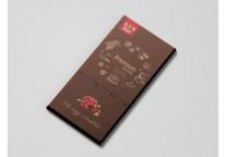 Шоколад на меду 70% какао «с Клюквой»