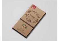 Шоколад на меду 70% какао «с Кедровым орехом»
