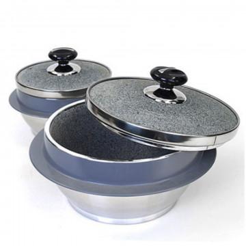 Традиционный корейский каменный котелок для приготовления риса от Kitchen Art