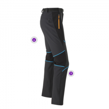 Зимние штаны для занятий альпинизмом от Alpinist